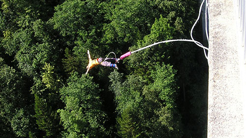 bungee jump in south africa